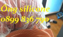 Ống silicone giá rẻ, ống màu cam chịu nhiệt