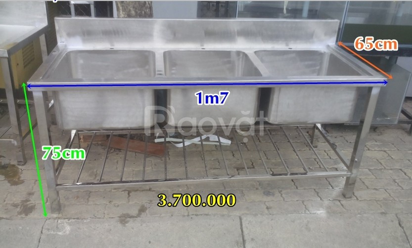 Thanh lý bồn inox giá rẻ TP.HCM