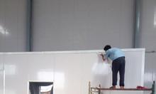 Làm vách ngăn cách nhiệt panel eps 3 lớp