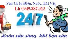 Sửa chữa điện nước lặt vặt TP Hà Nội