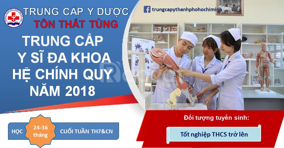 Trung cấp Y sĩ đa khoa TPHCM xét tuyển học bạ 2018