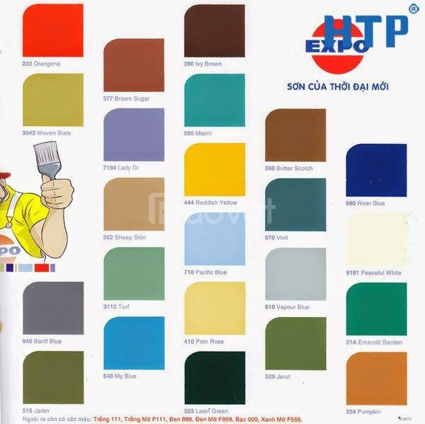 Nhà phân phối sơn dầu Expo chính hãng giá rẻ tại TPHCM chiết khấu cao