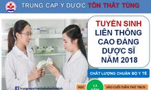 Liên thông cao đẳng dược tại TpHCM học phí ưu đãi