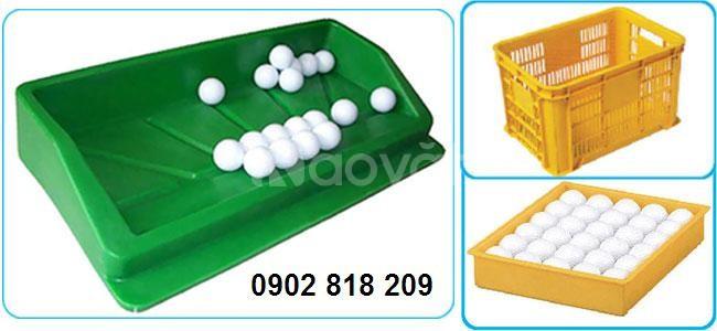 Khay golf nhựa, khay đựng bóng (banh) golf bằng nhựa