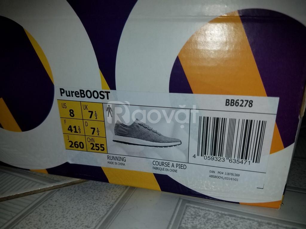 Giày Adidas Pure Boost 2018 (xám) chính hãng Việt Nam