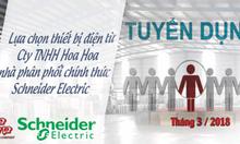 Tuyển nhân viên kinh doanh thiết bị điện Schneider tại Miền Bắc