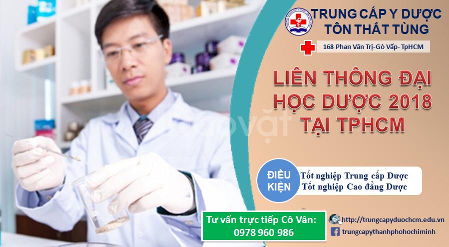 Liên thông Đại học Dược tại TpHCM học phí ưu đãi