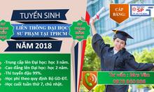 Liên thông đại học sư phạm mầm non năm 2018 học phí ưu đãi