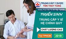 Trung cấp y TpHCM năm 2018 hệ vừa học vừa làm