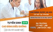 Địa chỉ học Cao Đẳng điều dưỡng năm 2018 tại TpHCM