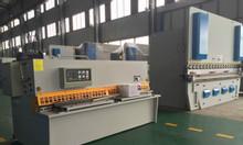 Máy cắt thép tấm thủy lực fyqc11y và CNC fyqc11k