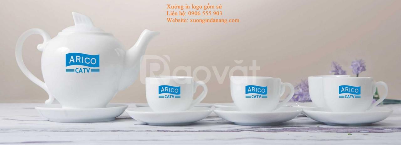 Sản xuất bộ ấm trà - In logo ấm trà tại Đà Nẵng, Huế