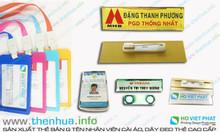 Báo giá làm thẻ công nhân viên chức rẻ, chất liệu pvc, chất lượng