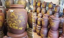 Cửa hàng hũ gạo tài lộc gốm sứ - Chum sành Bát Tràng TPHCM