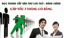 Học trung cấp văn thư lưu trữ tại Hà Nội cấp tốc có nhanh