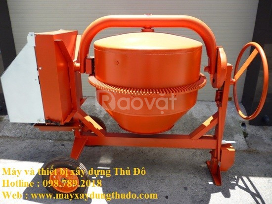 Mua máy trộn bê tông 200L chính hãng của Quyết Tiến
