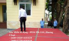 Cung cấp sân khấu di động, sân khấu lắp ghép giá tốt ở Hà Nội