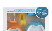 Bộ dụng cụ tập ăn cho bé Graco