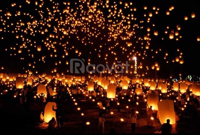 31/3 & 1/4 Chơi Lễ hội hoa đăng Tây Thiên & Sông Hồng Thủ Đô Resort