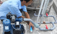DV sửa máy bơm nước tại nhà quận 5