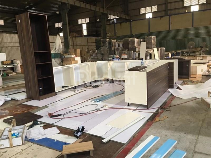 Sửa chữa đồ gỗ quận 8, giường, tủ, bàn ghế, kệ tủ bếp, cầu thang, cửa