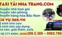 Dịch vụ 365 - dịch vụ Taxi tải Nha Trang