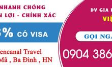 Dịch vụ làm visa đi Bangladesh, visa đi Myanmar