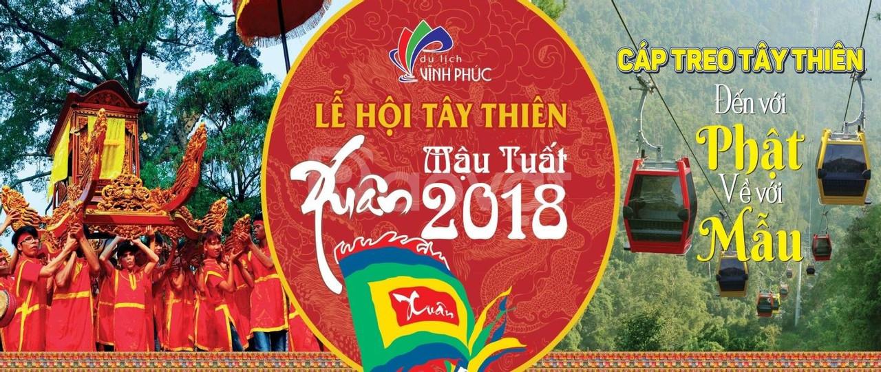 Tour lễ hội hoa đăng Thiền viện Tây Thiên - Hồ Đại Lải - Đảo Ngọc