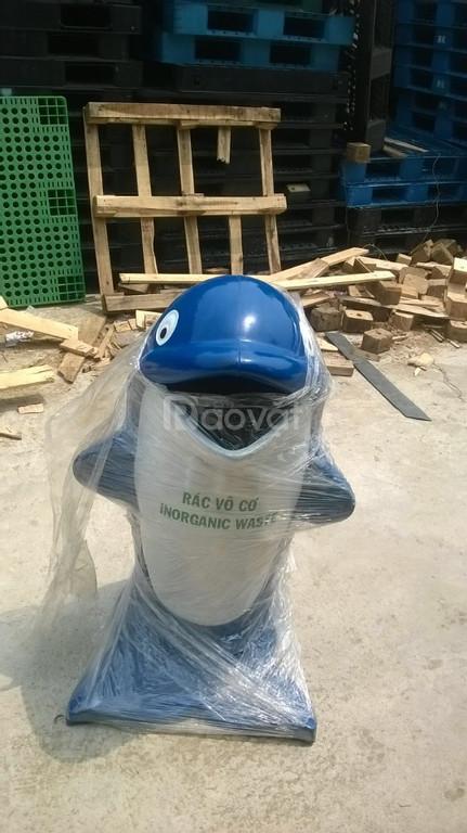 Chuyên cung cấp thùng rác hình thú, sóng nhựa tại Đà Nẵng