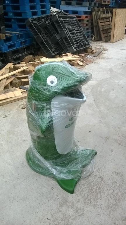 Thùng rác công nghiệp, hình thú, văn phòng tại Đà Nẵng