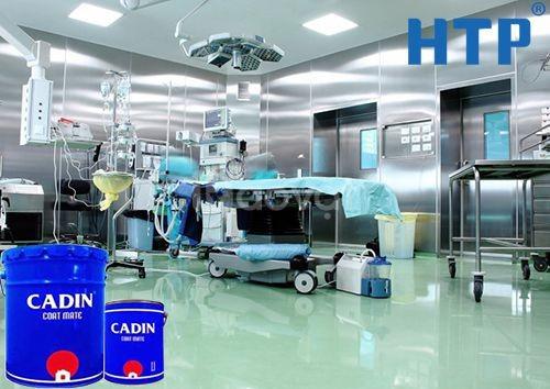 Đại lý sơn epoxy tự san phẳng cho nền bê tông giá rẻ tại TPHCM