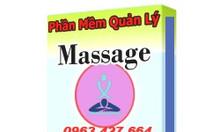 Phần mềm quản lý, tính tiền tiệm Massage