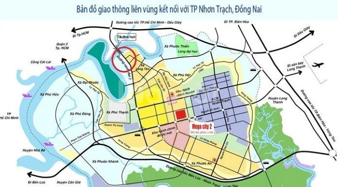 Bán đất mặt tiền chợ Bắc, Hiệp Phước, Nhơn Trạch, giá 5.5 tỷ