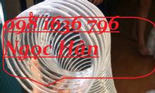 Ống gió bụi trắng, ống thông gió hút bụi D50-D200