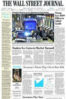Đặt báo nước ngoài Financial Times, New York Times, The Straits Times