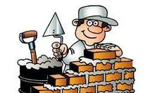 Gấp thợ xây đi làm ngay tại công trình