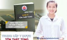 Nên chọn học trung cấp dược TpHCM ở đâu?