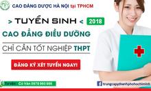 Trường nào tại TpHCM đào tạo cao đẳng điều dưỡng?