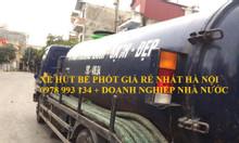 Xe hút bể phốt giá rẻ tại Ninh Hiệp Huyện Thanh Trì