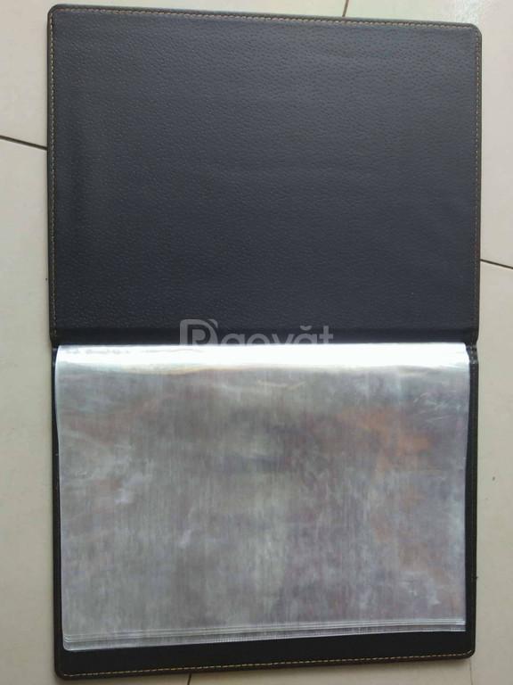 Nơi sản xuất cuốn menu, sổ menu, bìa menu, bìa kẹp tiền giá rẻ
