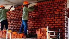 Cần tìm thợ xây và phụ đi làm ngay