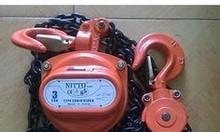 Pa lăng xích kéo tay Nitto 1 tấn, 3 tấn, 5 tấn, 10 tấn