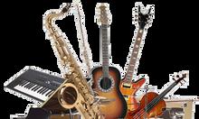 Khóa học guitar, organ, piano, trống, ukulele , thanh nhạc