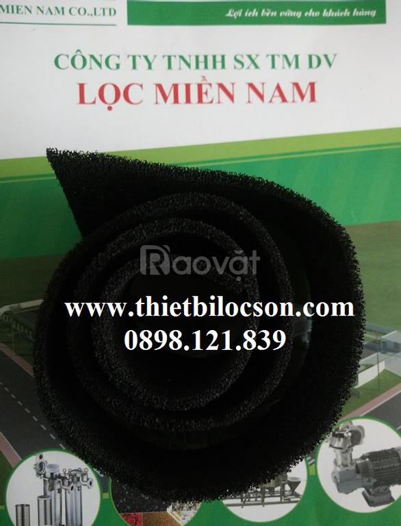 Xốp Carbon hoạt tính 5mm dùng trong thiết bị điều hòa không khí