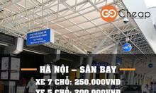 Dịch vụ xe sân bay Nội Bài giá rẻ