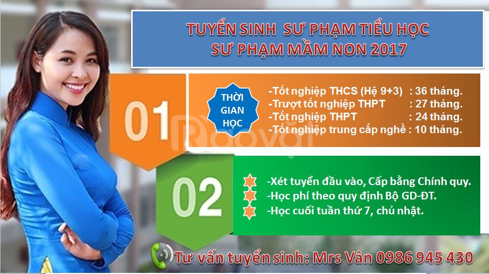 Trung cấp sư phạm tiểu học lấy bằng nhanh tại Gò Vấp-TPHCM