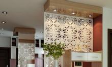 Ứng dụng mẫu vách ngăn phòng khách và bếp cho chung cư