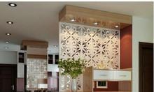 Căn hộ thêm hiện đại nhờ vách ngăn phòng khách và nhà bếp