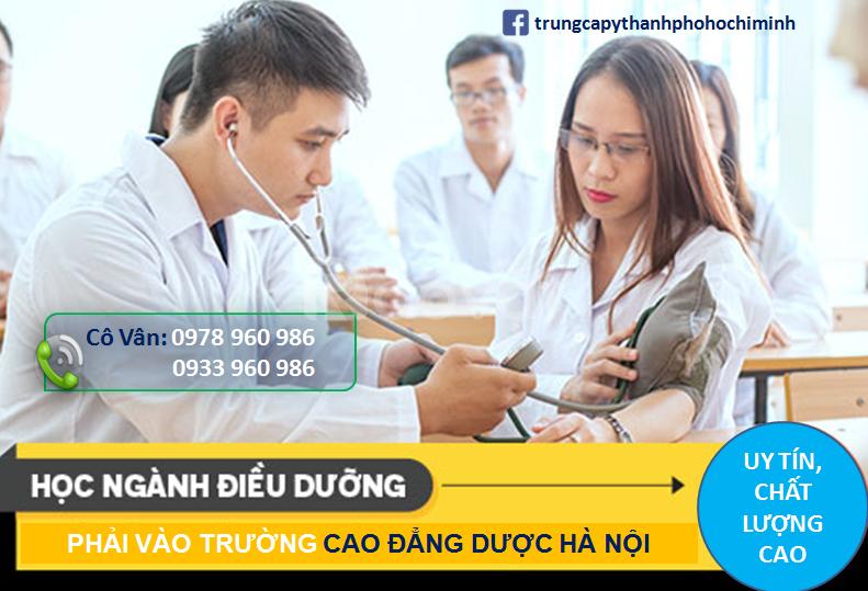Điều kiện học Cao đẳng Điều dưỡng TPHCM?