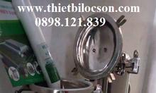 Bình lọc inox, 5 lõi, 30 inch dùng cho dược phẩm, thực phẩm